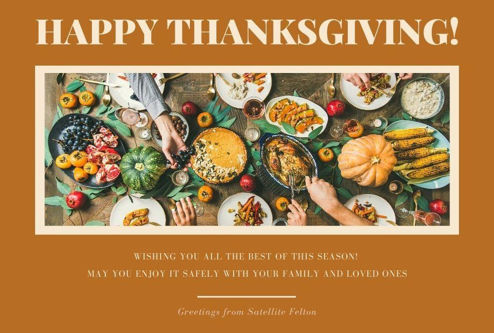 Thanksgiving 2020 Holiday Closure