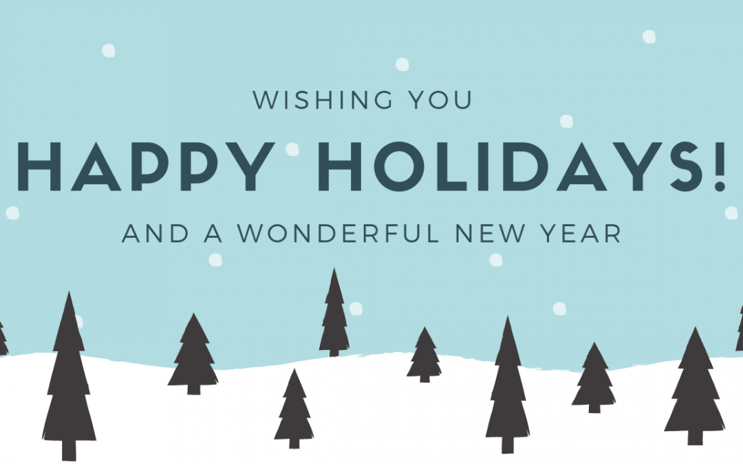 December 2020 Holiday Closures